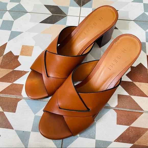 M. Gemi Shoes - M.Gemi // The Tursi Leather Heeled Sandal